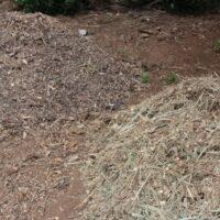Trituración diferenciada de restos vegetales