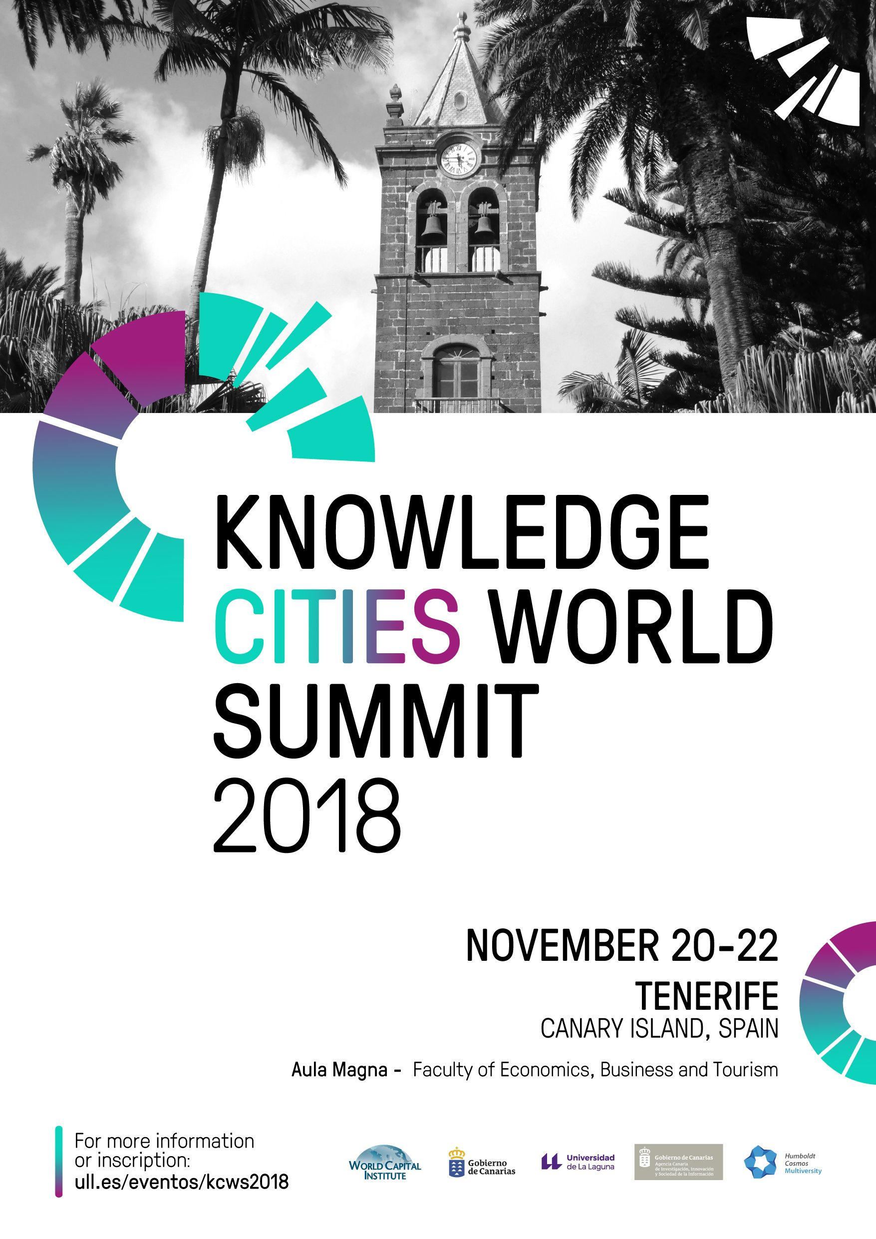 Knowledge Cities World Summit 2018 - Cartel_A3 - November