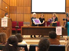 premios IUEM 8 de marzo 2020 Dra Burgess