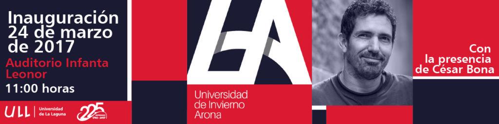 Inauguración de la Universidad de Invierno de Arona