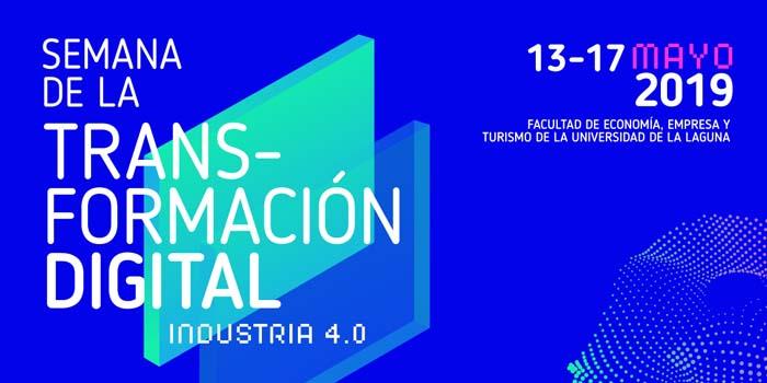 Cartel del evento de Transformación Digital