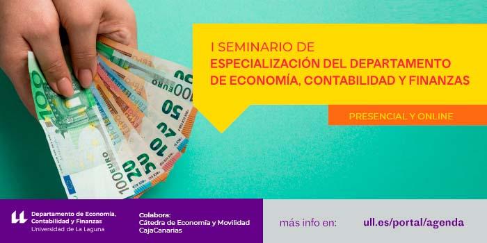 I Seminario de especialización del Departamento de Economía_banner