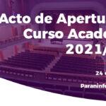 Acto de apertura 2021-22