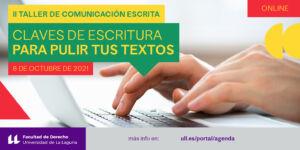 II Taller de comunicación escrita (Banner Agenda)