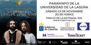 Timaginas Teatro - Magallanes Elcano - Paraninfo 700x350px