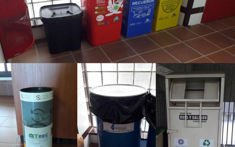 Foto de residuos en la ULL