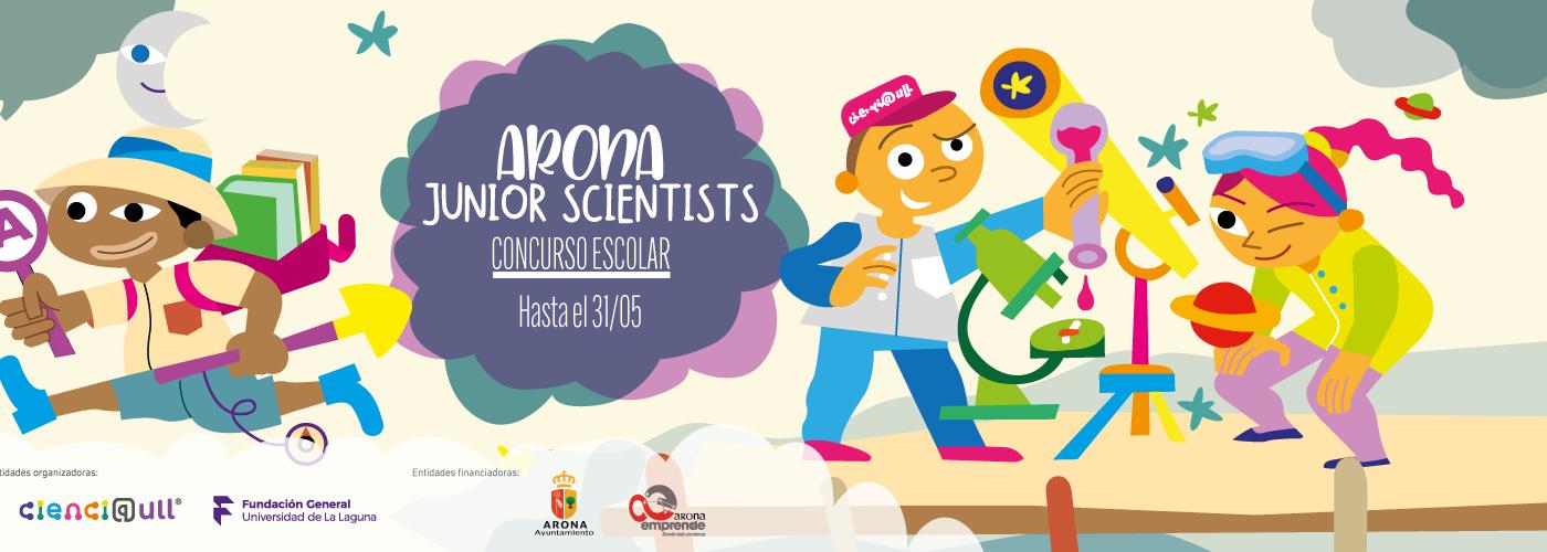 Banner Arona Junior Scientists 1500 x 500