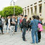 Estudiantes que realizaron la PAU en la ULL en la convocatoria de junio 2015.