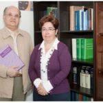 Dolores Corbella y Cristóbal Corrales en una imagne de archivo.