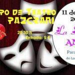 "Cartel obra de teatro ""La soñada Anes"""