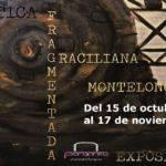 """Cartel de la exposición """"Crítica fragmentada"""""""