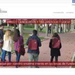 web de la Fundación Carolina