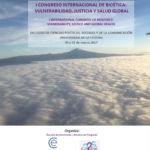 Cartel del congreso de bioética