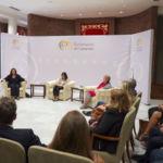 Diálogo sobre la igualdad de las mujeres en el Parlamento de Canarias.