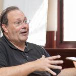 Roberto Viciano durante su estancia en la ULL