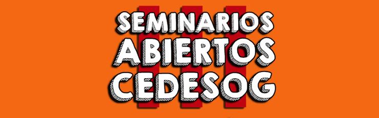 Seminario de Víctor Calero en CEDESOG
