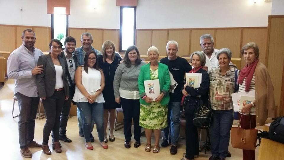 Imagen de este encuentro de voluntariado cultural (cedida)