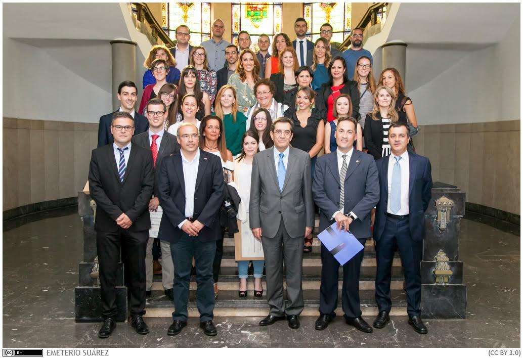 La ULL homenajea a sus mejores estudiantes de Doctorado y Másteres