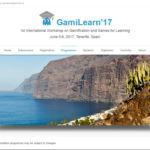 Captura de pantalla de la web de uno de los eventos