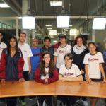 Estudiantes del Colegio Echeyde durante su vista a la ULL