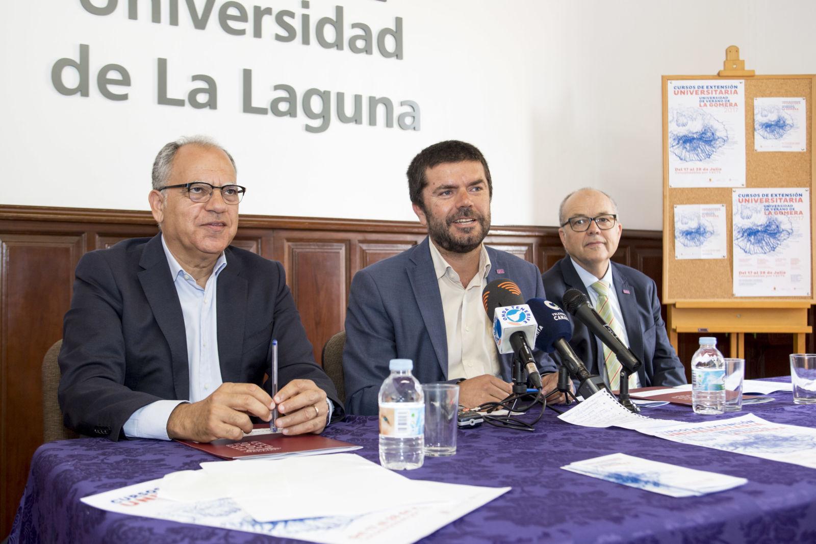 Presentación de la Universidad de Verano de La Gomera