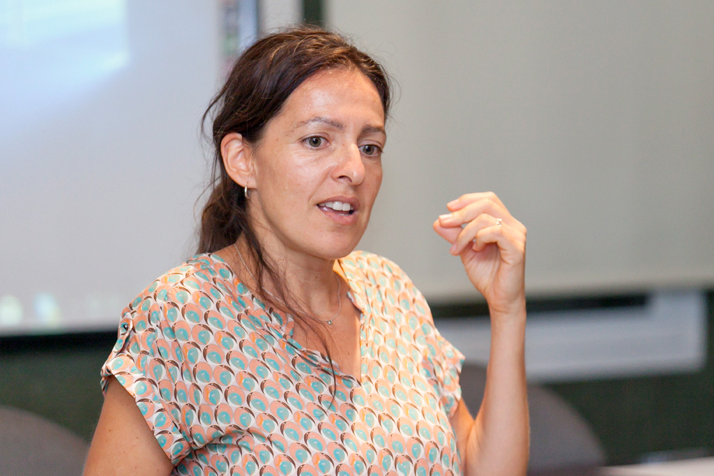 La experta en geoarqueología Carolina Mallol.