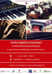 Cartel del Micro Abierto Solidario