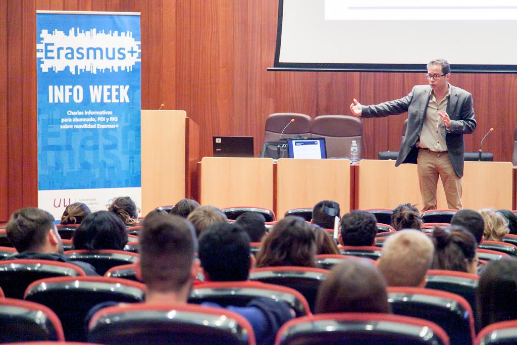 Inicio de la Erasmus Info Week
