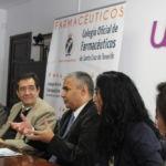 Firma de convenio entre la ULL y el Colegio de Farmacéuticos de Santa Cruz de Tenerife