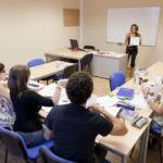 Imagen de una clase del Servicio de Idiomas de la ULL.