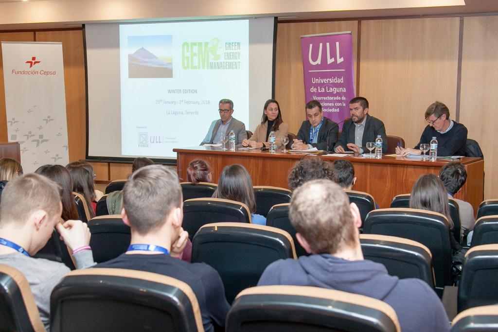 Inauguración del foro GEM sobre gestión de energías renovables