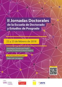 Cartel de las II Jornadas Doctorales