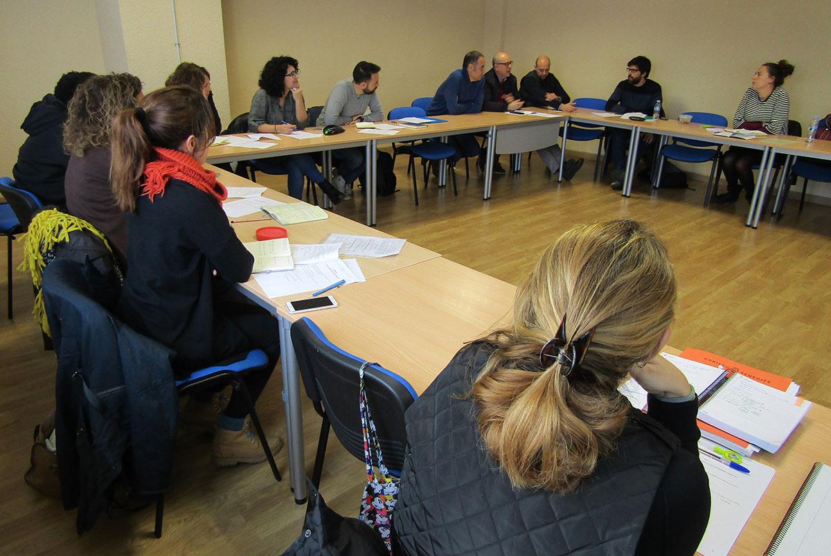 Reunión preparatoria en la sede de la FEGULL del próximo encuentro de Intercultural Cities en Tenerife.