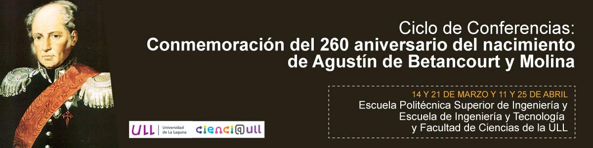 Conferencias sobre Agustín de Betancourt