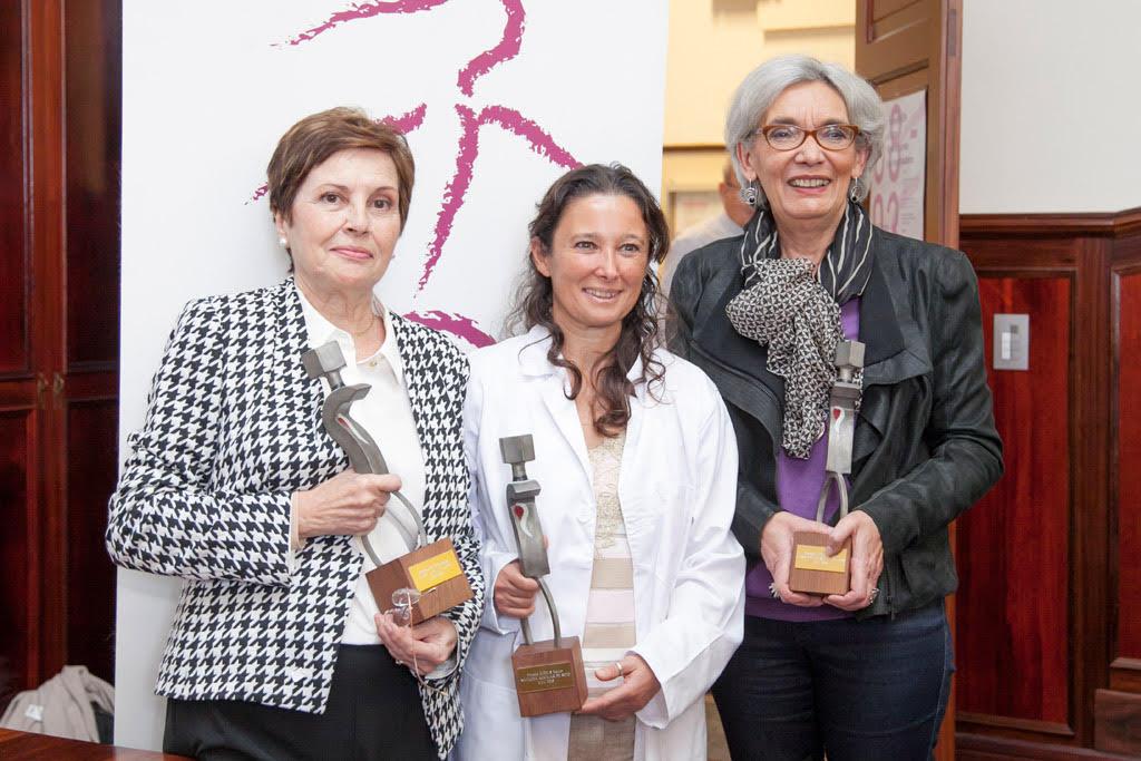 María Arcas, Natacha Aguilar y Carolina Martínez, premiadas por el IUEM