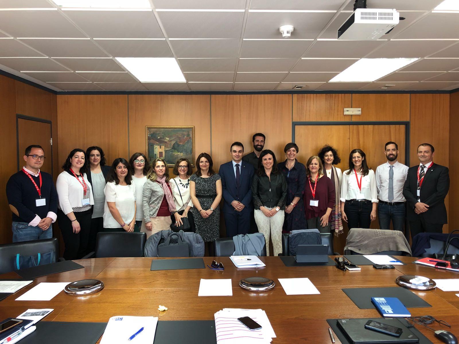 Rubio Armendáriz preside el grupo de trabajo de la sectorial de internacionalización y cooperación de la CRUE