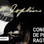 Cartel del concierto de ragtime