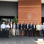 Foto de los integrantes de este proyecto internacional sobre energías renovables