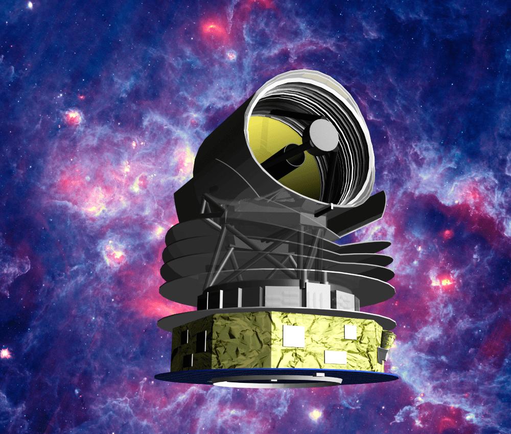 Imagen del telescopio SPICA