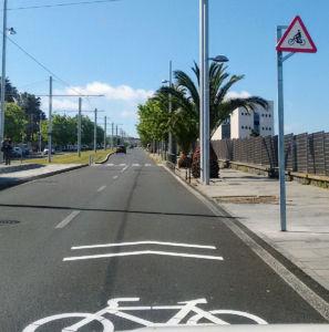 programa de fomento del uso de la bicicleta Biciabril