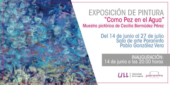 Exposición de Cecilia Bermúdez en la ULL