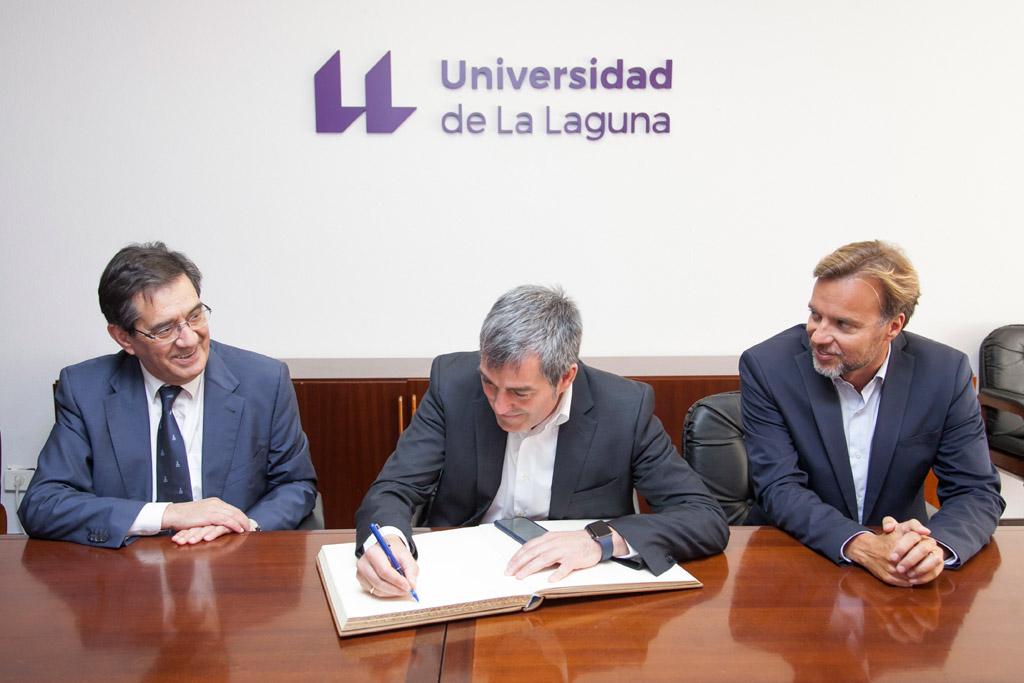 el Gobienro de Canarias partipa en la cátedra de inmigración