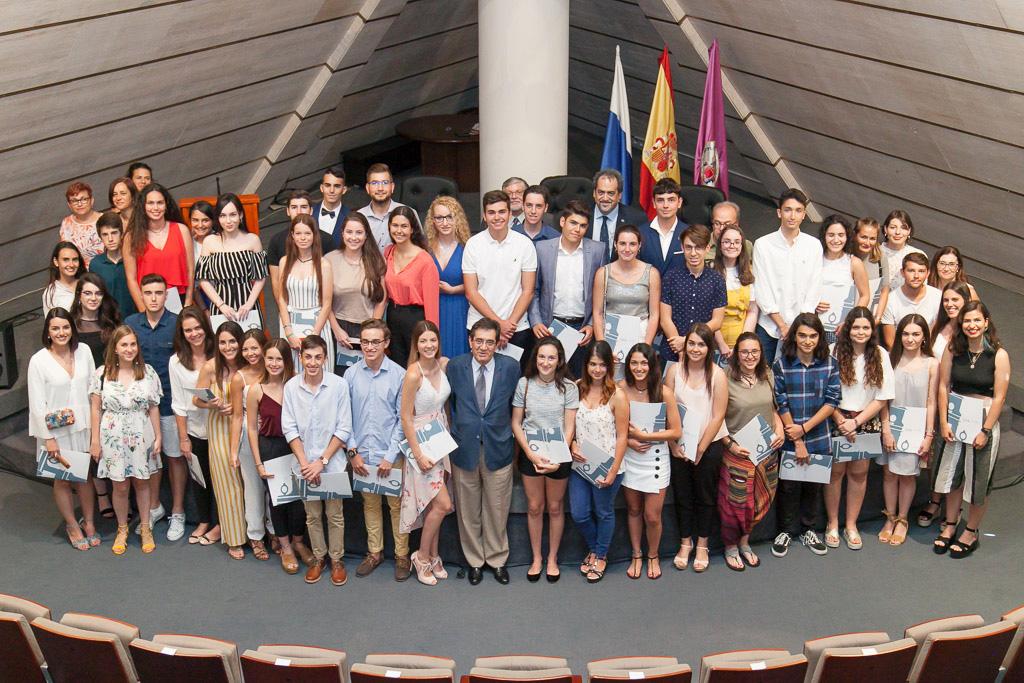 La Universidad de La Laguna agasaja la brillantez de los estudiantes con mejor nota de acceso