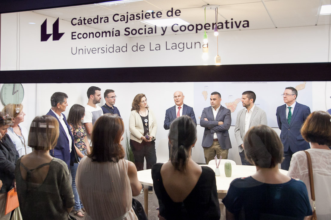 La Cátedra Cajasiete de Economía Social y Cooperativa de la ULL estrena sede en Guajara