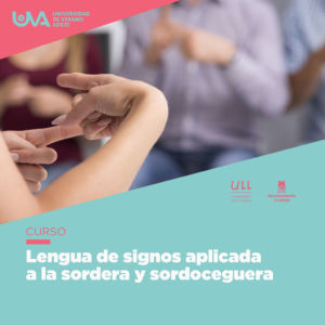 curso de lengua d esignos para sordera y sordoceguera