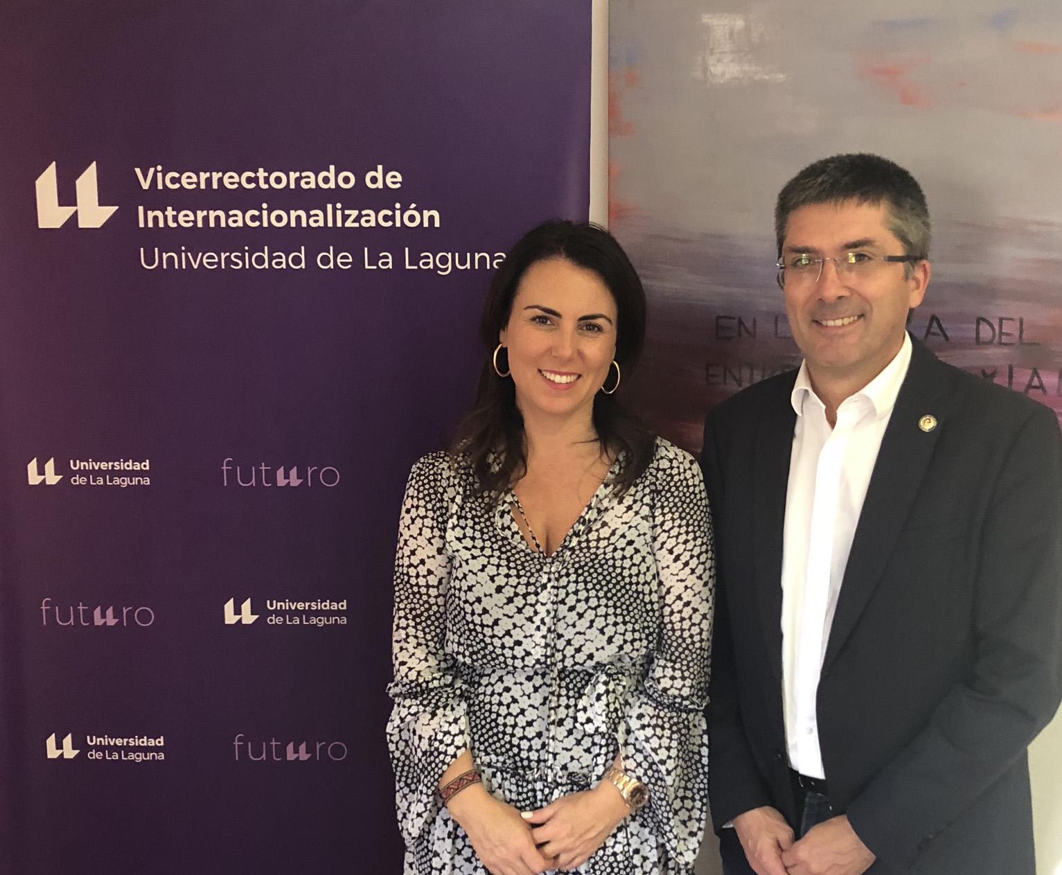 Los vicerrectores de Internacionalización de la ULL y ULPGC trazan su estrategia conjunta de proyección exterior