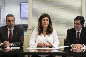 Firma del convenio entra las universidades y Gorona del Viento.
