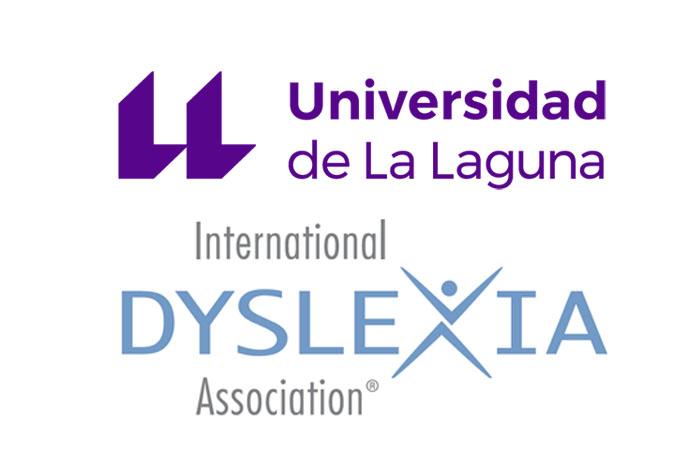 Logos de la Universidad de La Laguna y la Asociación Internacional de Dislexia