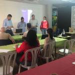 Imagen de este taller sobre producción de aceite de oliva celebrado en El Paso (La Palma).