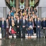 Foto de grupo de los asistentes a esta reunión CRUE de Secretarías Generales celebrada en la Universidad de La Laguna.